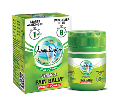 Strong Pain Balm Headache And Back Pain